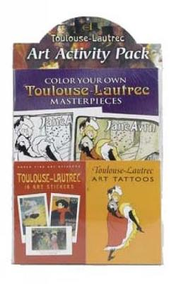 Toulouse-Lautrec Art Activity Pack by Dover Publications Inc