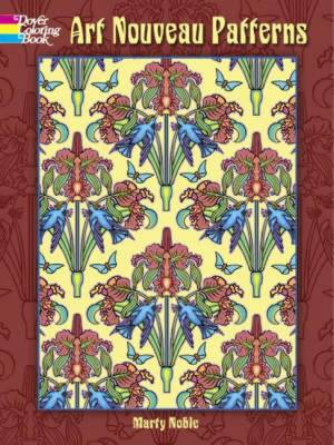 Art Nouveau Patterns by Marty Noble