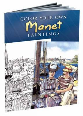 Color Your Own Manet Paintings by Edouard Manet