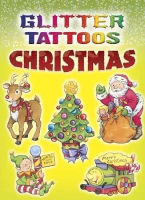 Glitter Tattoos Christmas by Cathy Beylon