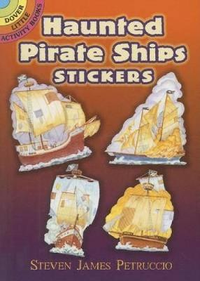 Haunted Pirate Ships Stickers by Steven James Petruccio