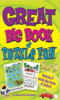 Great Big Book of Puzzle Fun by Fran Newman-D'Amico