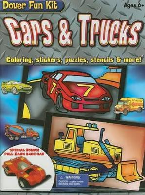 Cars & Trucks Coloring, Stickers, Puzzles, Stencils & More! by Dover