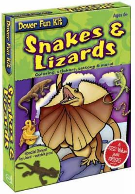 Snakes and Lizards by Dover Publications Inc