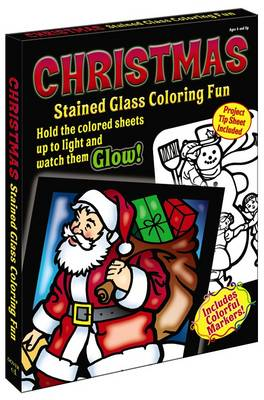 Christmas Stained Glass Coloring Fun by John Green