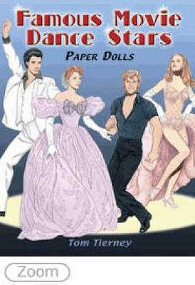 Famous Movie Dance Stars Paper Dolls by Tom Tierney