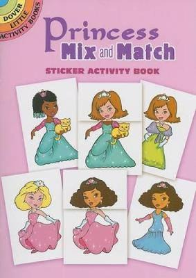Princess Mix and Match Sticker Activity Book by Robbie Stillerman