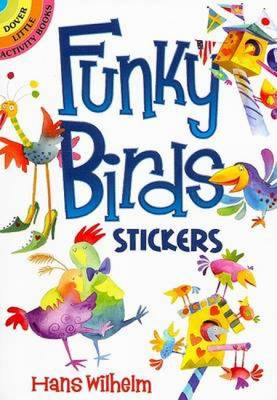 Funky Birds Stickers by Hans Wilhelm
