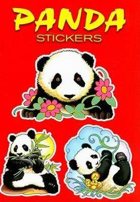Panda Stickers by Marty Noble