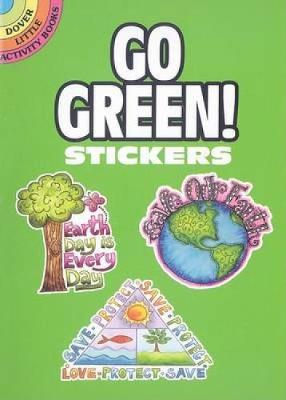 Go Green! Stickers by Karen Embry