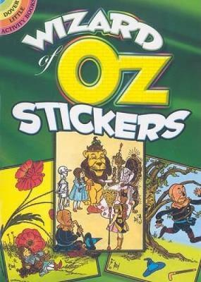Wizard of Oz Stickers by Ted Menten