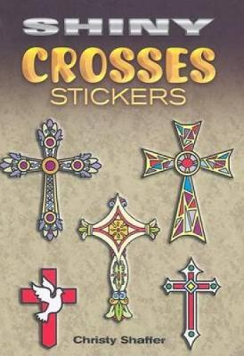 Shiny Crosses Stickers by Christy Shaffer