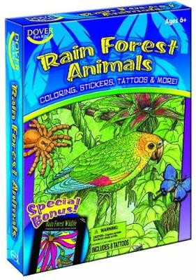 Rain Forest Animals Fun Kit by Dover Publications Inc