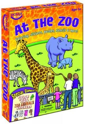 At the Zoo Fun Kit by Dover Publications Inc