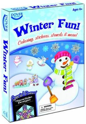 Winter Fun! Fun Kit by Dover Publications Inc