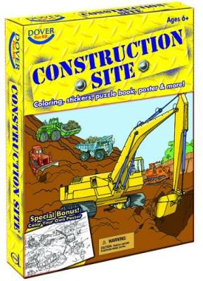 Construction Site Fun Kit by Dover