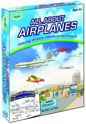 All About Airplanes Fun Kit by Dover Publications Inc