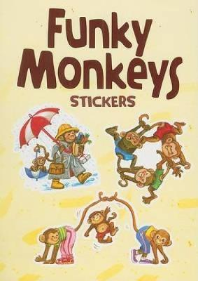 Funky Monkeys Stickers by Yu-Mei Han