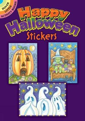 Happy Halloween Stickers by Susan Brack
