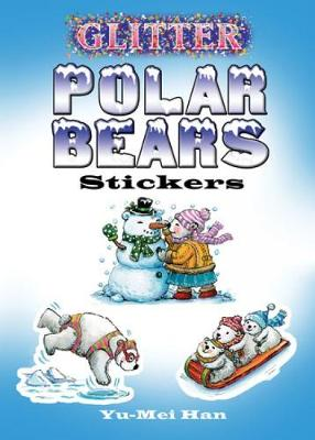 Glitter Polar Bears Stickers by Yu-Mei Han