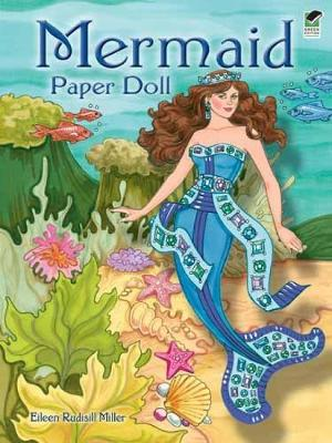 Mermaid Paper Doll by Eileen Miller