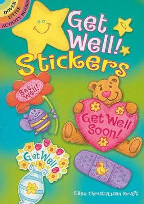 Get Well! Stickers by Ellen Christiansen Kraft