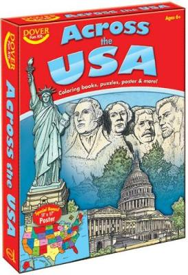 Across the USA Fun Kit by Dover