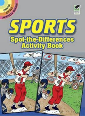 Sports Spot-the-Differences Activity Book by Tony J. Tallarico