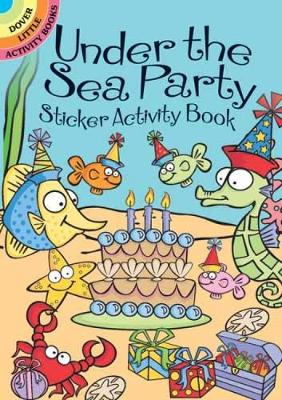 Under the Sea Party Sticker Activity Book by Susan Shaw-Russell