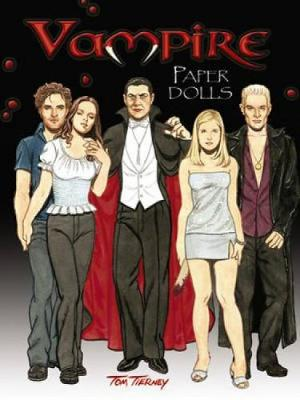 Vampire Paper Dolls by Tom Tierney