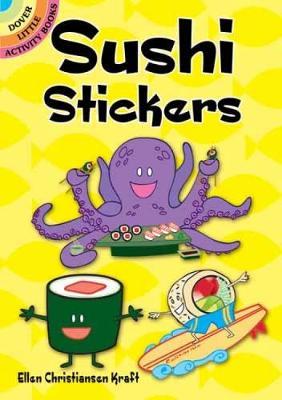 Sushi Stickers by Ellen Christiansen-Kraft