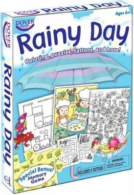 Rainy Day Coloring, Puzzles, Tattoos, and More! by Dover Publications Inc