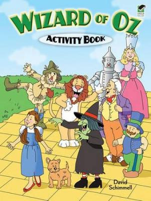 Wizard of Oz Activity Book by David Schimmell