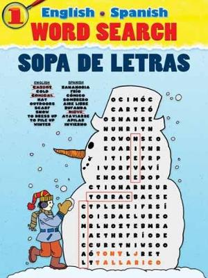English-Spanish Word Search Sopa de Letras by Tony Tallarico