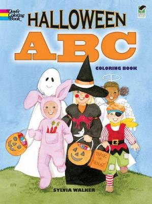 Halloween ABC Coloring Book by Sylvia Walker