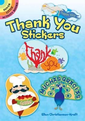 Thank You Stickers by Ellen Christiansen Kraft