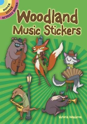 Woodland Music Stickers by Victoria Maderna