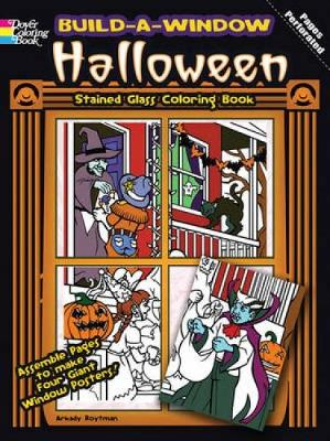 Build a Window Stained Glass Coloring Book Halloween by Arkady Roytman