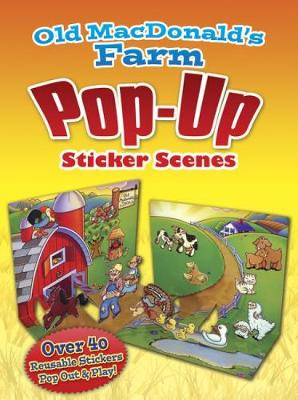 Old MacDonald's Farm Popup Sticker Scenes by Robbie Stillerman