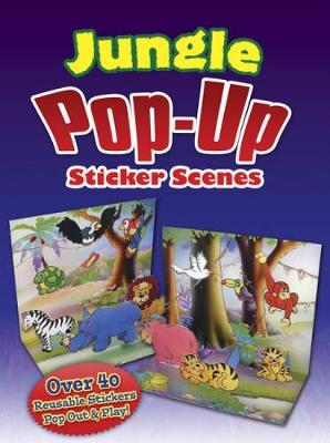 Jungle Popup Sticker Scenes by Robbie Stillerman