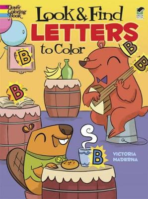 Look & Find Letters to Color by Victoria Maderna