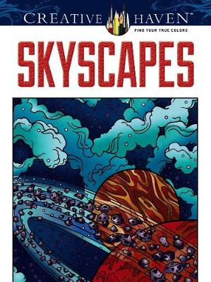 Skyscapes Coloring Book by Jessica Mazurkiewicz