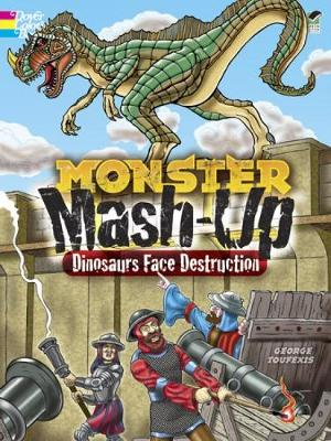 Monster Mash-Up - Dinosaurs Face Destruction by George Toufexis