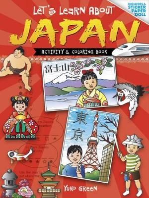 Let's Learn About Japan Coloring Book by Yuko Green