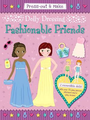 Press-Out & Make Dolly Dressing -- Fashionable Friends by Duck Egg Blue