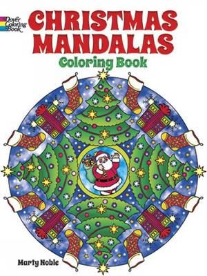 Christmas Mandalas Coloring Book by Marty Noble