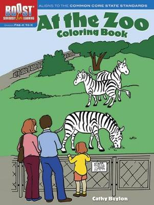BOOST at the Zoo Coloring Book by Cathy Beylon