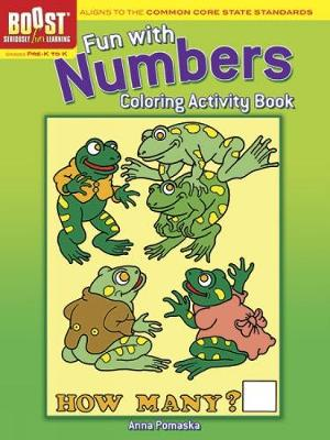 BOOST Fun with Numbers Coloring Activity Book by Anna Pomaska