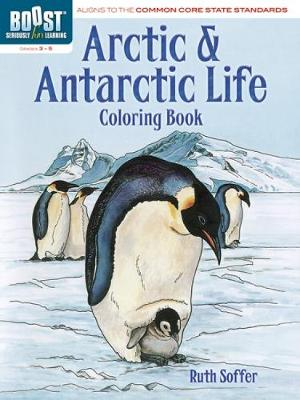 BOOST Arctic and Antarctic Life Coloring Book by Ruth Soffer