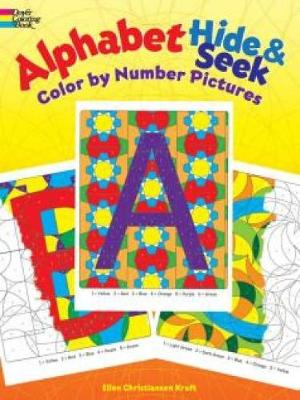 Alphabet Hide & Seek Color by Number Pictures by Ellen Kraft